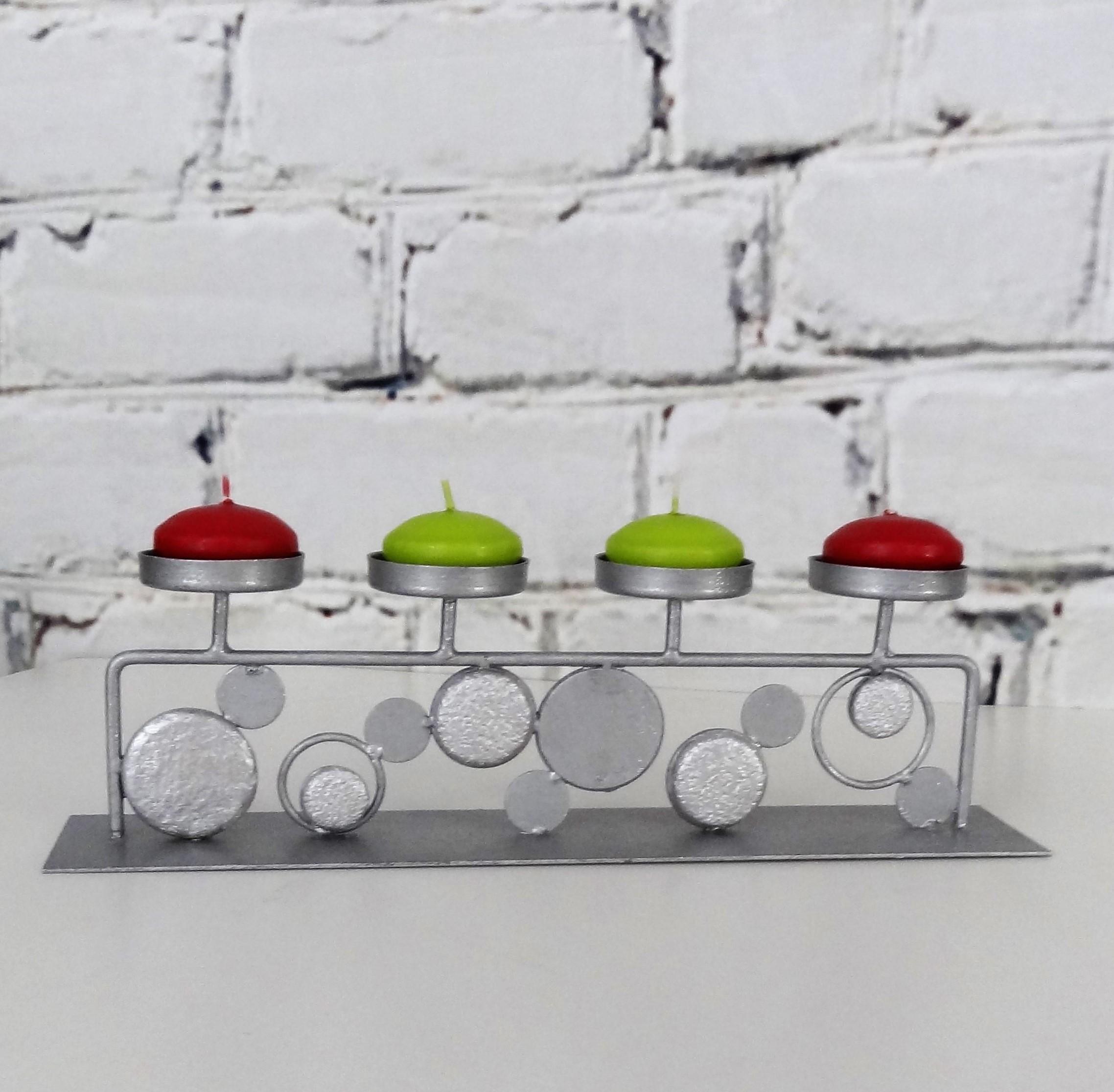 bougeoir centre de table brocante cr ative relooking de meubles et objets